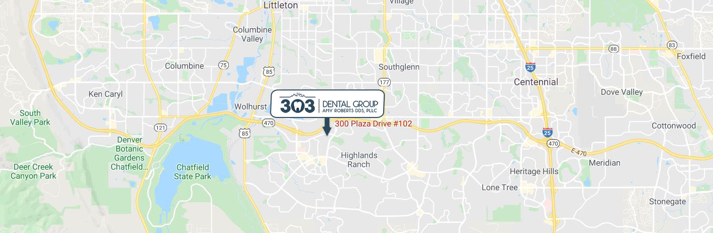 Directions to 303 Dental Group - Amy Roberts DDS - Denver, CO